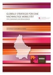globale strategie für eine nachhaltige mobilität - Département de l ...