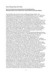 Bildungsstandards und Evaluation in der politischen Bildung - Die ...