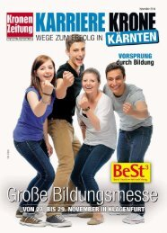 Karriere Krone Kärnten_141122