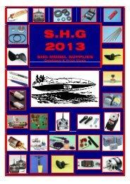 Download Catalogue - SHG Model Supplies