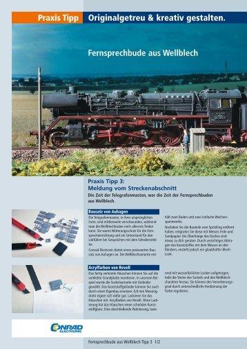 Originalgetreu & kreativ gestalten. Praxis Tipp Fernsprechbude aus ...