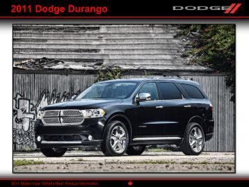 2011 Dodge Durango - WK2Jeeps.com