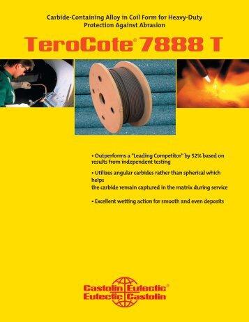 TeroCote 7888T.indd - Castolin Eutectic