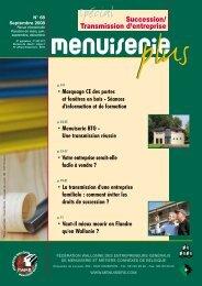 Numéro 68 Septembre 2008 - Les Menuisiers