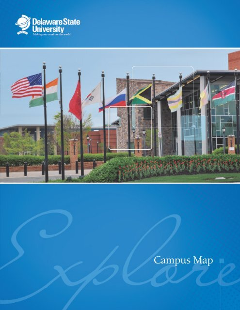 delaware state university map Campus Map And Parking Delaware State University delaware state university map