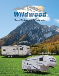 Travel Trailers and Fifth Wheels