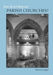 PARISH CHURCHES? how do we keep our - Ecclesiological Society