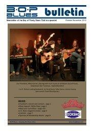 October - November 2012 - BOP Blues Club