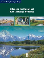 Enhancing the Natural and Built Landscape Worldwide - Ecology ...
