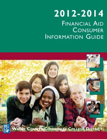 financial aid consumer information guide - Wayne County ...