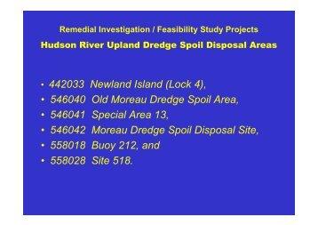 NYSDEC RIFS Upland Disposal Sites