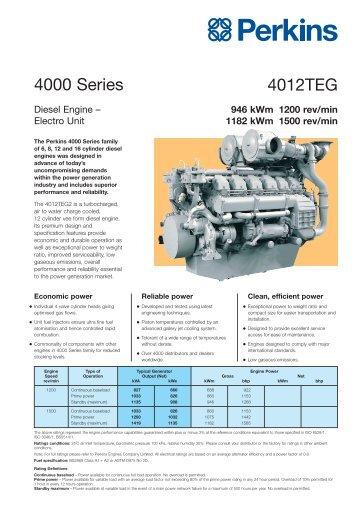 4012TEG 4000 Series - Michele Caroli Srl
