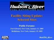 Selected Site - Hudson River - Community Advisory Group