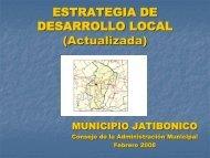 estrategia de desarrollo local - Centro de Intercambio y Referencia ...