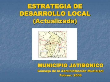 estrategia de desarrollo local - Centro de Intercambio y Referencia ...