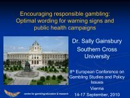 Optimal wording for warning signs and public health campaigns