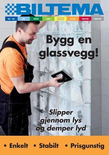 Bygg en glassvegg! - Biltema