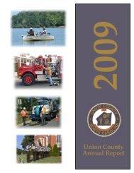 Union County Annual Report
