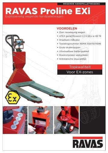 RAVAS ProLine 2100-EXi Technical specification leaflet