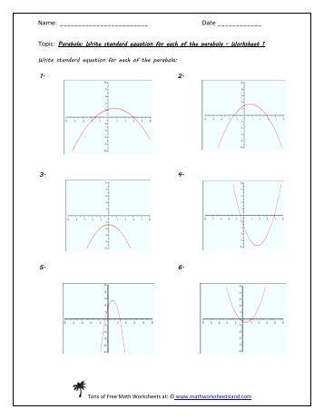 linear quadratic systems five pack math worksheets land. Black Bedroom Furniture Sets. Home Design Ideas