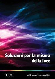 Brochure panoramica GL Optic - Volta SpA