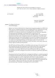 Beoordeling afwijking van de procesbeschrijving Heimelijke ...