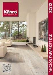 Akciós termékek Kährs 2012 - KPP