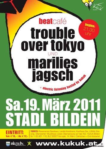 trouble over tokyo marilies jagsch - KuKuK Bildein