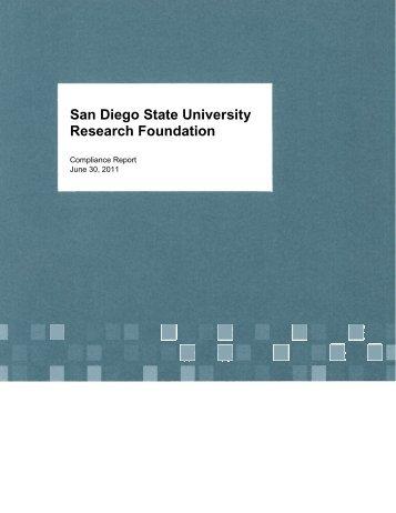 San Diego State University Foundation - SDSU Research Foundation
