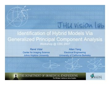 Slides - Vision, Dynamics and Learning Lab - Johns Hopkins ...