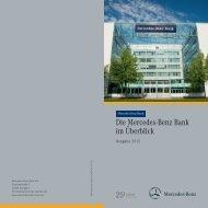 Die Mercedes-Benz Bank im Überblick