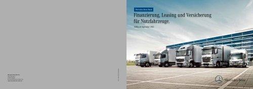 Finanzierung, Leasing und Versicherung für ... - Mercedes-Benz Bank