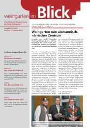 Ausgabe 02/2014 - Weingarten im Blick