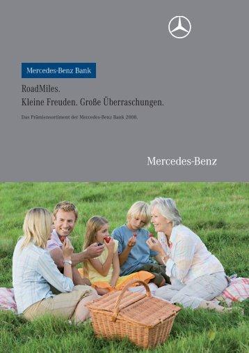 RoadMiles. Kleine Freuden. Große ... - Mercedes-Benz Bank