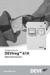 DEVIreg™ 610 - Danfoss.com