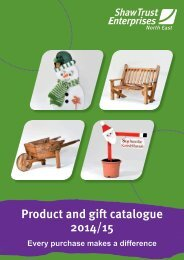 Product and gift catalogue 2014/15