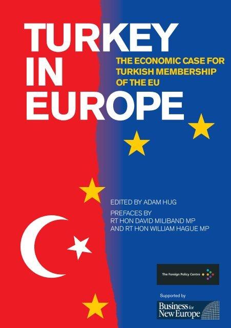 Turkey in Europe TEXT:Turkey in Europe TEXT - Foreign Policy Centre