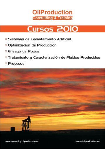 Descargar Folleto con todos nuestros cursos ... - OilProduction.net