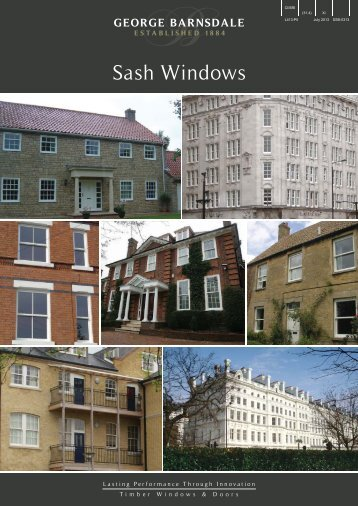 Sash Windows - George Barnsdale and Sons