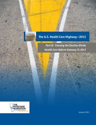 Part II: Crossing The Election Divide Health Care Reform