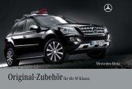Original-Zubehör für die M-Klasse. -  Mercedes-Benz Accessories ...