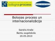 Internacionalizācija kā Boloņas procesa virzītājspēks