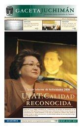 Viernes 26 de enero del 2007 - Publicaciones - Universidad Juárez ...