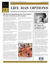Fall Winter Newsletter 2003.qxd - Self Enhancement, Inc.