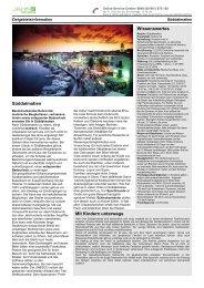 Zielgebietsinformation Süddalmatien