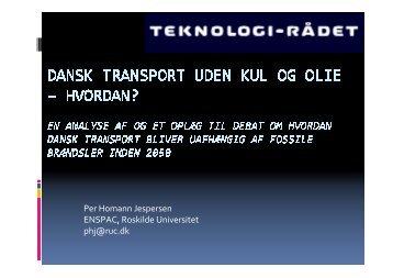 Per Homann Jespersen, RUC