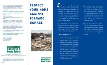 Protect Your Home Against Tornado Damage - St. Clair County