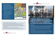 Le projet d'outil d'évaluation des risques concernant l'infrastructure ...