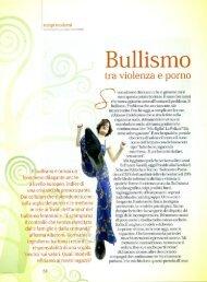 Bullismo - Benvenuti nel sito dei ragazzi della Scuola Media!