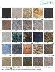 GRANITE - Aurora Marble & Tile Home Page